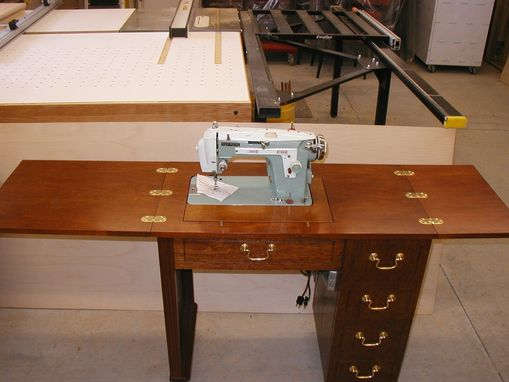 Custom Made Sewing Machine Stand