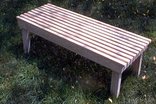 Custom Made Cypress Outdoor Furniture