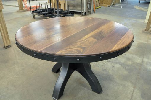 Custom Made Hure Pedestal Table
