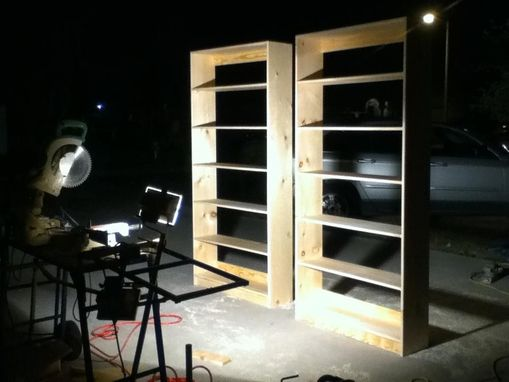 Custom Made Modern Bookshelf