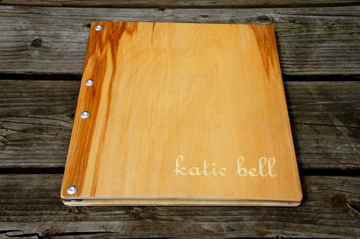 Custom Made Custom Request Wooden Birch Portfolio/Album/Heirloom/Wedding