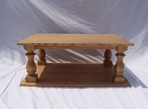 Custom Made Quarter-Sawn White Oak Coffee Table