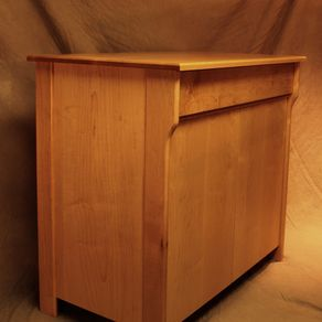 anderson kitchen cabinets handmade curly maple cabinet by eidolon designs 1250