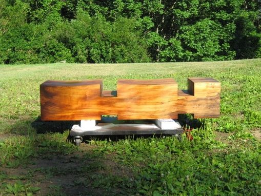 Custom Made Bridge Benches And Sculpture