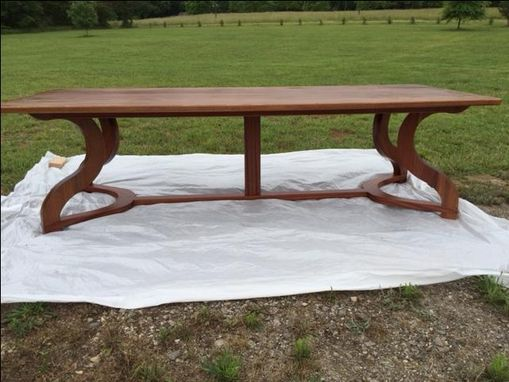 Custom Made The Bella Gamba Table (Beautiful Leg Table)