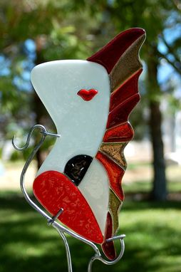 "Custom Made ""Feng Shui Goddess"" - Love & Marriage - Fused Glass Sculpture"