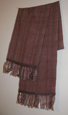 Custom Made Madder Brown Scarf
