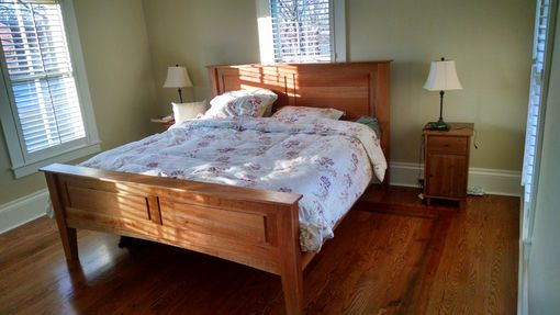 Custom Made King Size Cherry Bed