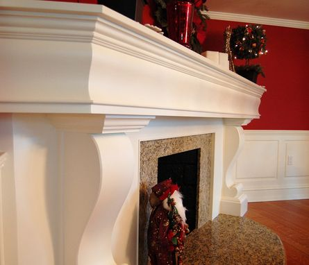 Custom Made Classical Mantel