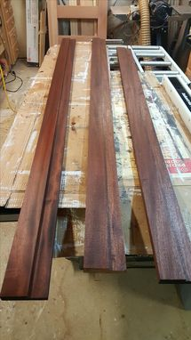 Custom Made Sapele Exterior Door Unit