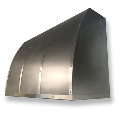 Custom Made #109 E103 Standard Non-Directional Stainless Steel Range Hood