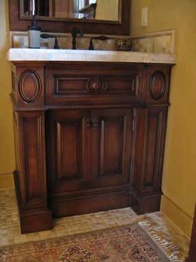 Custom Made Custom Alder Vanities