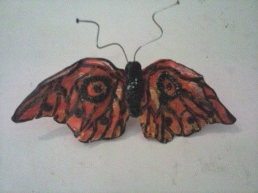 Custom Made Butterfly Hair Clip