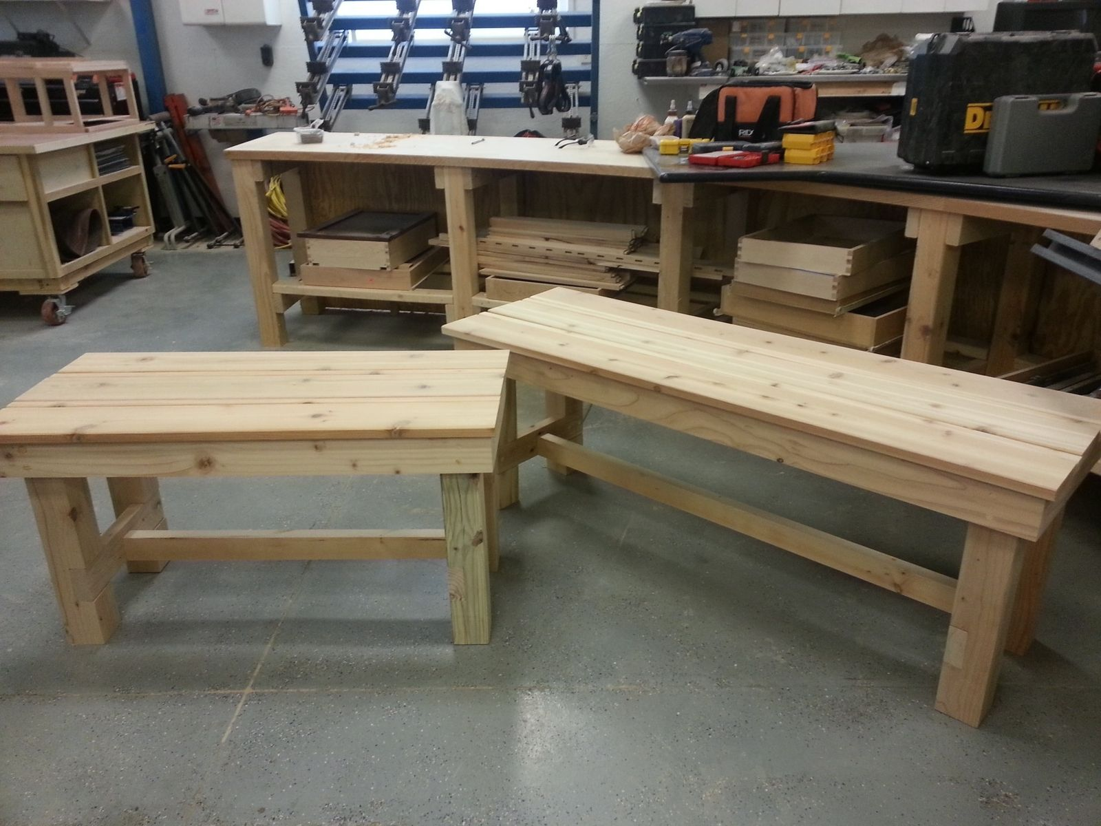 custom made patio benches - Patio Benches