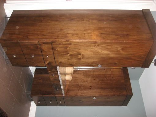 Custom Made Walnut Vanities
