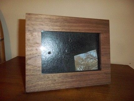 Custom Made Solid Walnut Picture Frame
