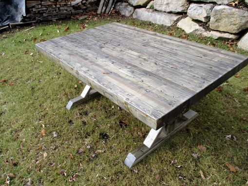 Custom Made Rustic Farmhouse Industrial Conference Tables And Desks