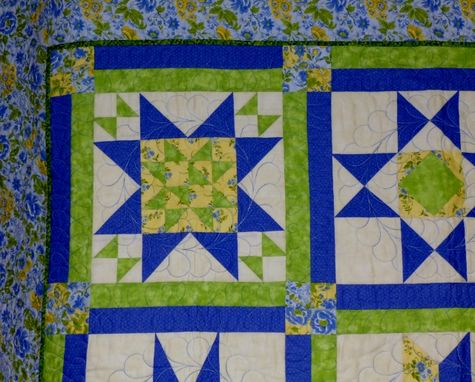 Custom Made Custom Nine Block Large Sampler Quilt