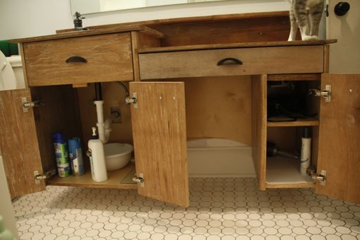 Custom Made Medium Bathroom Vanity