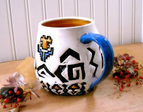 Custom Made Extra Large Totally Tribal Mug