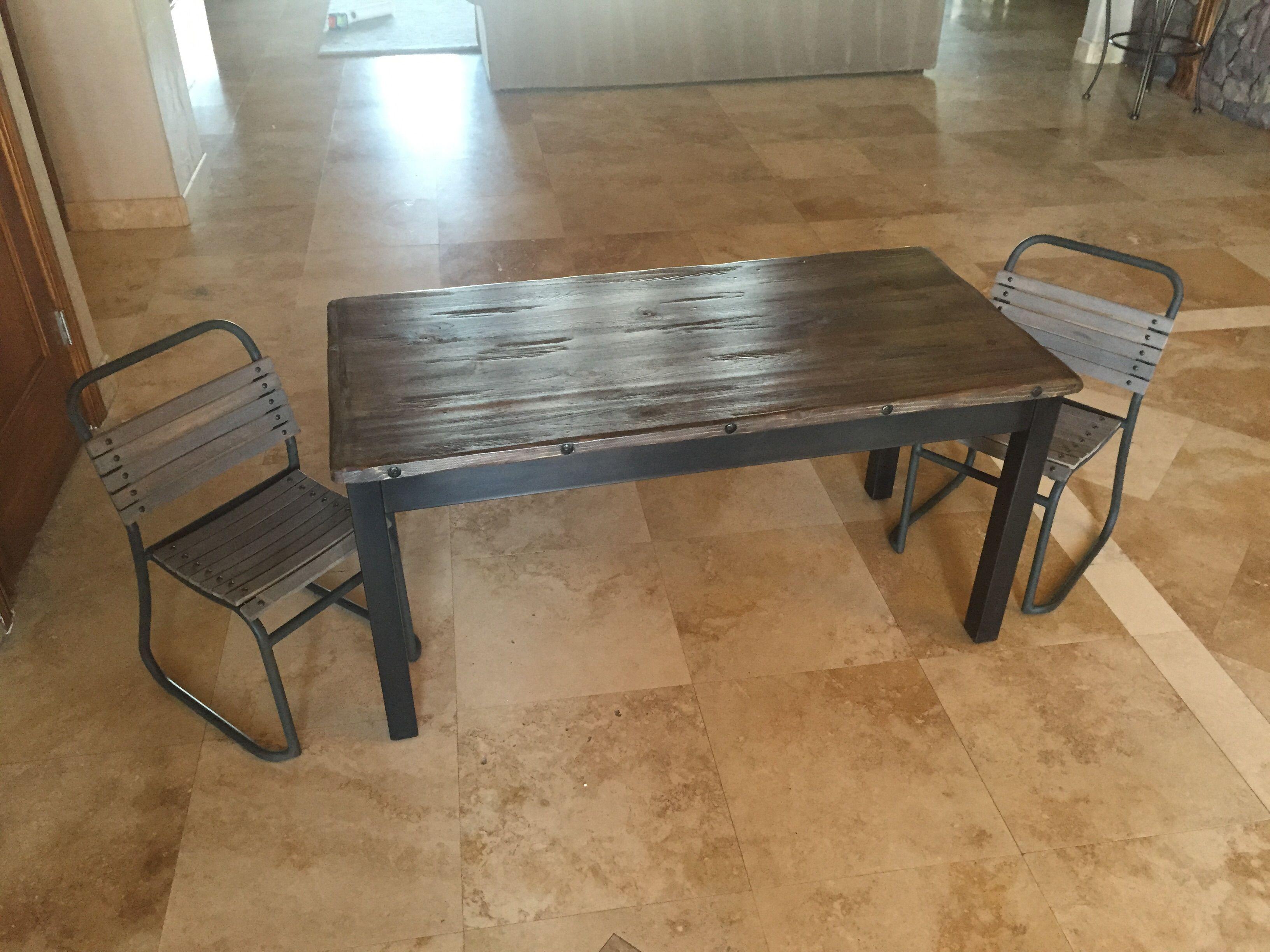 Sensational Custom Tyler Kids Storage Table By Ironclad Vintage Short Links Chair Design For Home Short Linksinfo