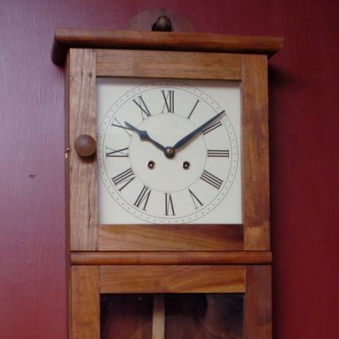 Custom Made Shaker Wall Clock