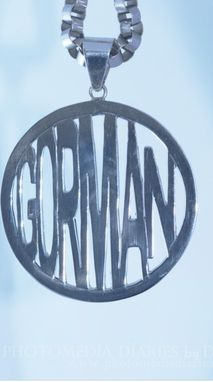 Custom Made Customized  Name Necklace