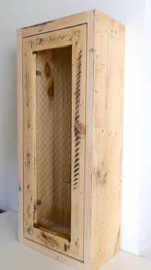 Custom Made Distressed Medicine Cabinet