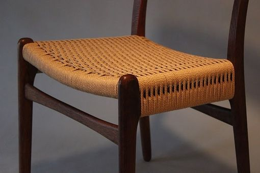 Custom Made Hans Wegner Cord Seat Repair