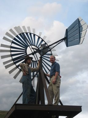 Custom Made Windmill - Full Scale Yard Orniment