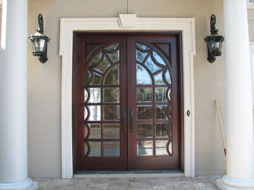 Custom Made Mahogany Door