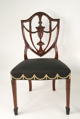 Custom Made Federal Shield Back Side Chair
