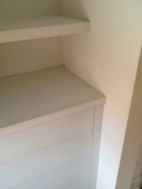 Custom Made Built In Dresser