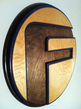"Custom Made ""The Factory"" F Layered Logo"
