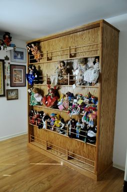 Custom Made Display Murphy Bed Cabinet