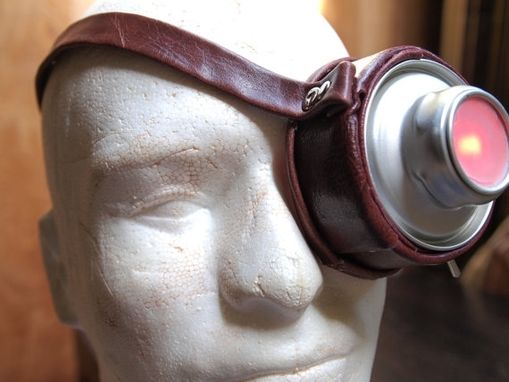 Custom Made Steampunk Lightup Monocle