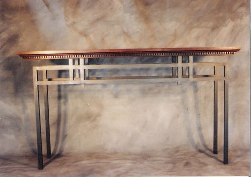 Custom Made Classical Contemporary Console