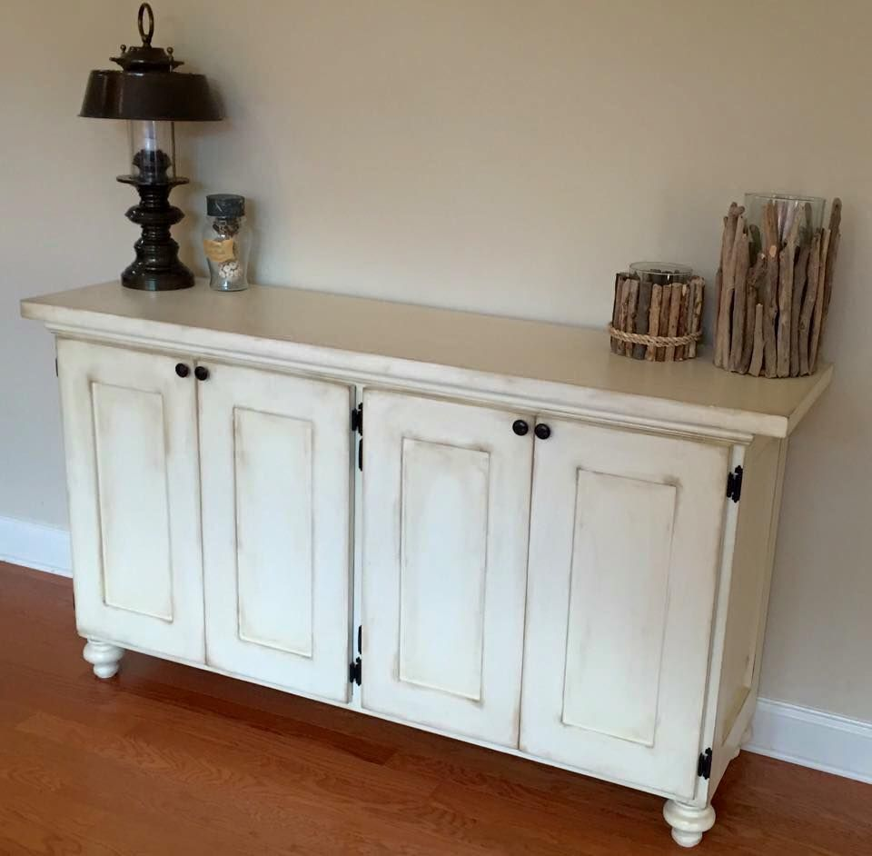 Buy Hand Made Sideboard Buffet Table With Storage Underneath Made To Order From D S Wood House Custommade Com