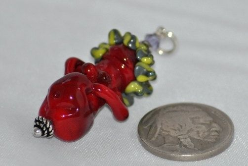 Custom Made Pregnant Handmade Glass Fertility Goddess Glass Art Revealed