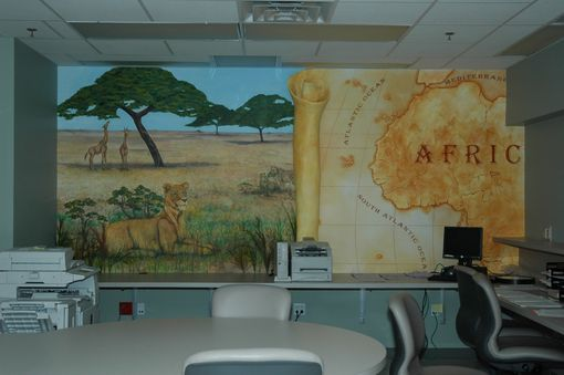Custom Made Summerlin Hospital- Children's Ward Mural