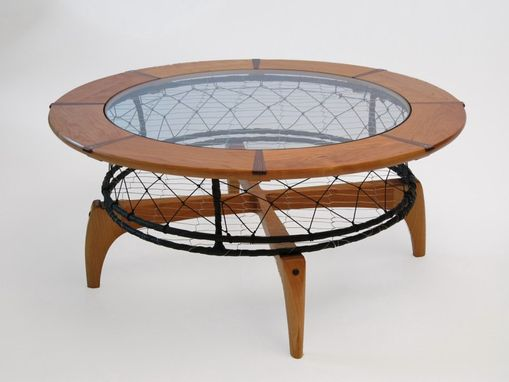 Custom Made Cherry Crab Pot Coffee Table