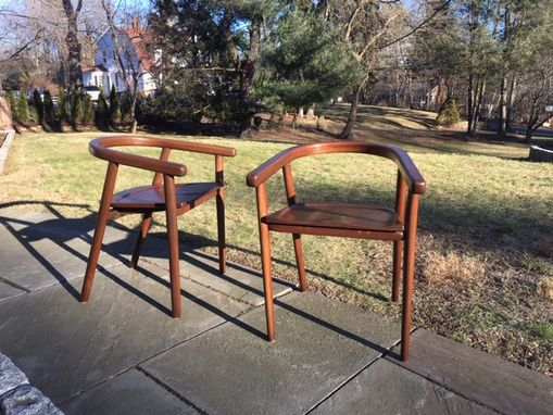 Custom Made Mid-Century Nordic Dining Room Chair