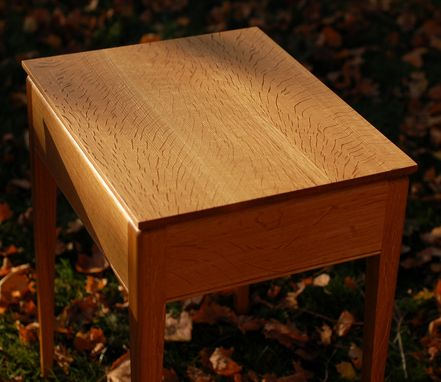 Custom Made Quater-Sawn Oak End Tables
