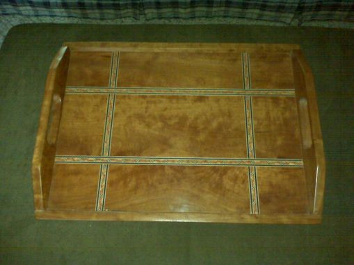 Custom Made Cherry Serving Tray