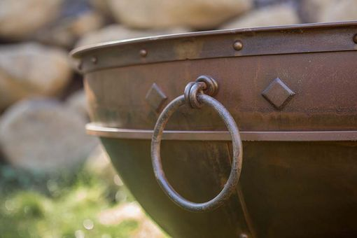 Custom Made Greek Brazier Fire Pit