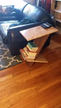 Custom Made Cantilevered End Table