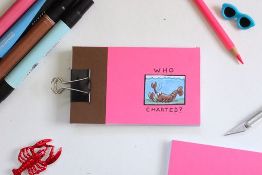 "Custom Made Custom ""Who Charted?"" Animated Flipbook"