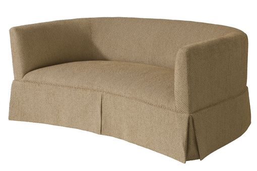 Custom Made Curved Sofa