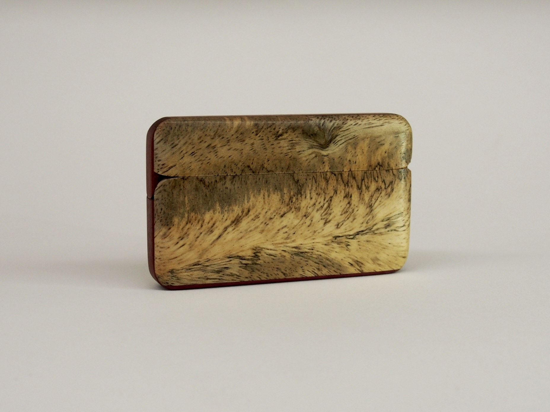 Buy a Handmade Wood Wallet And Business Card Holder, made to order ...