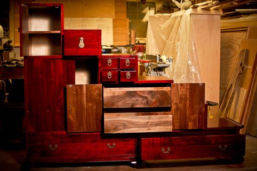 Custom Made Asian Inspired Custom Bedroom Furniture